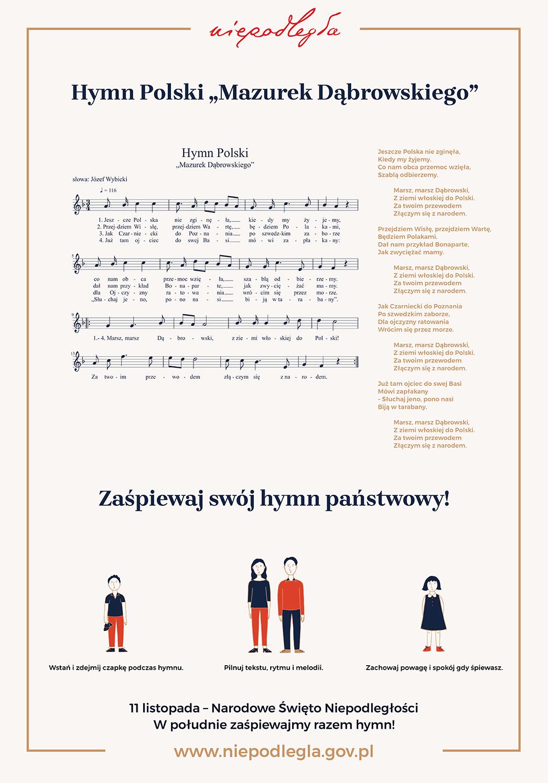 Symbole Narodowe Hymn Polski